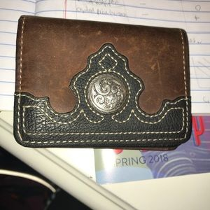 Cody James leather wallet